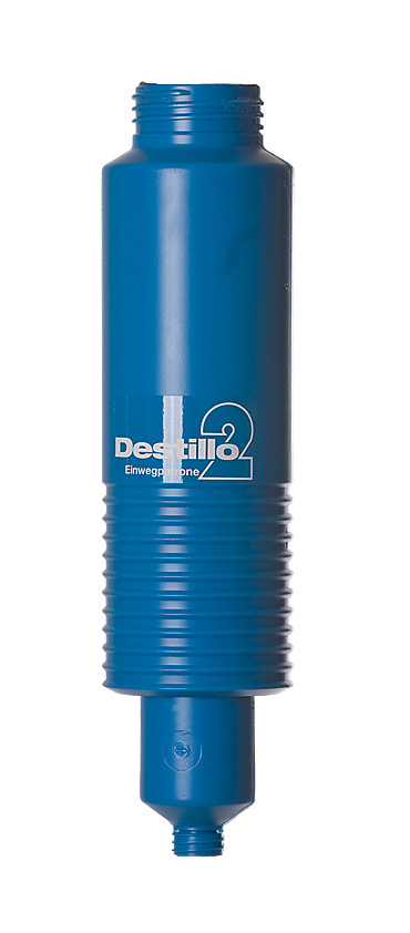Accessories Replacement cartridges for ion exchanger device Destillo 2