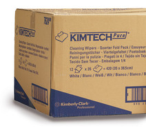 Reusable wipes KIMTECH<sup>&reg;</sup> Pure, 12 unit(s), 12 x 35 cloths