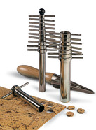 Handheld cork borer set
