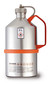 Safety laboratory canister polished, with screw cap and overpressure valve, 1 l
