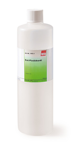 Cleaning agents ROTIPLASTICLEAN<sup>&reg;</sup> Plastic cleaner