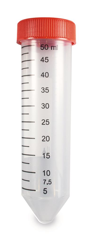 Centrifuge tubes conical, without rim, 50 ml, <b>Sterile</b>