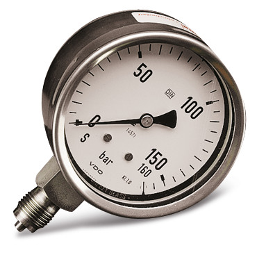 Accessories Pressure gauge, Display pressure gauge up to 160 bar
