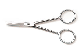 Microscopy scissors straight