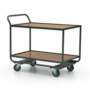 Shelf trolley wood