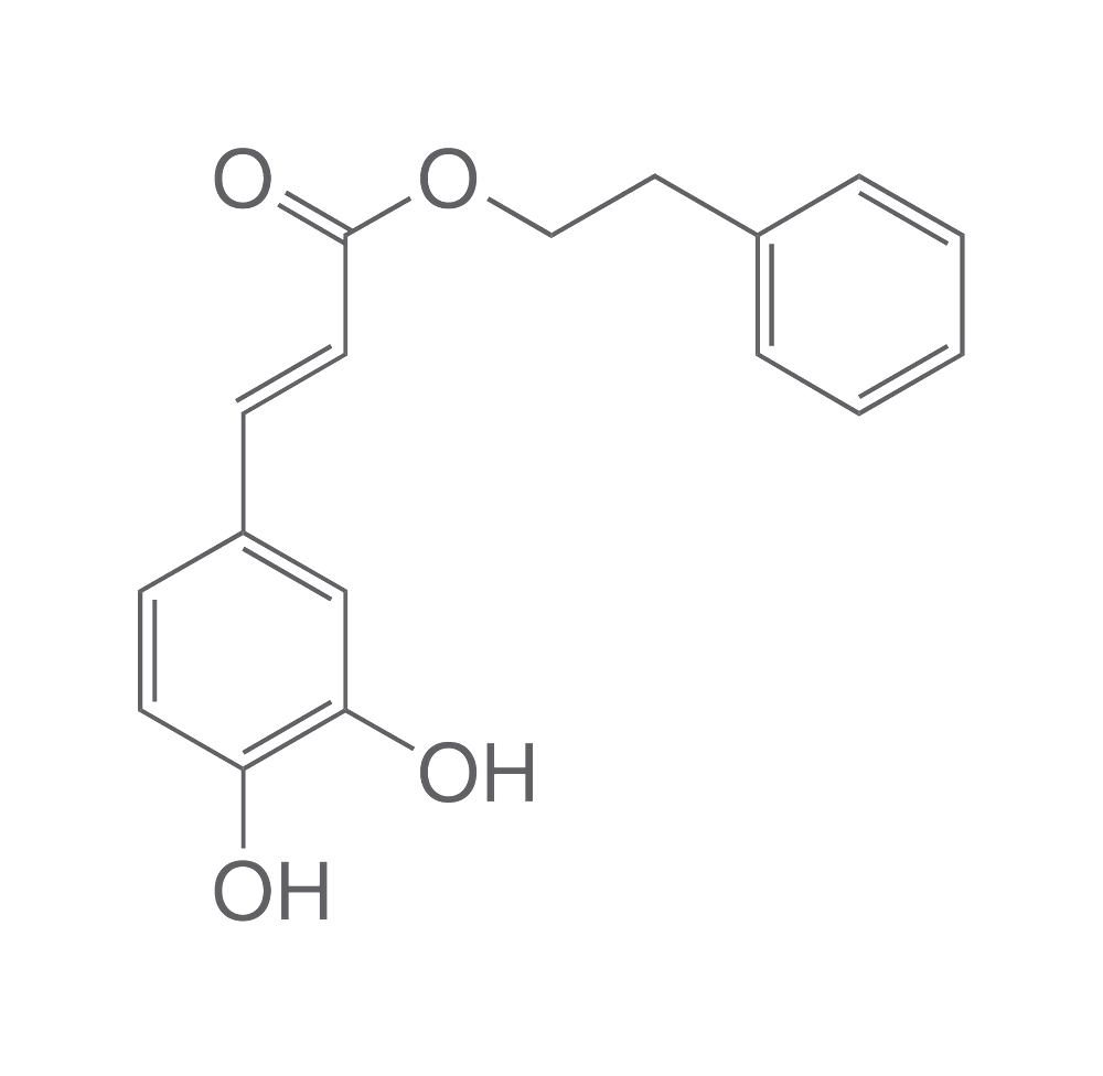 Caffeic acid phenethyl ester, 50 mg