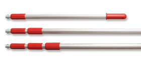 Telescopic rod for sampling containers, 1000-3000 mm