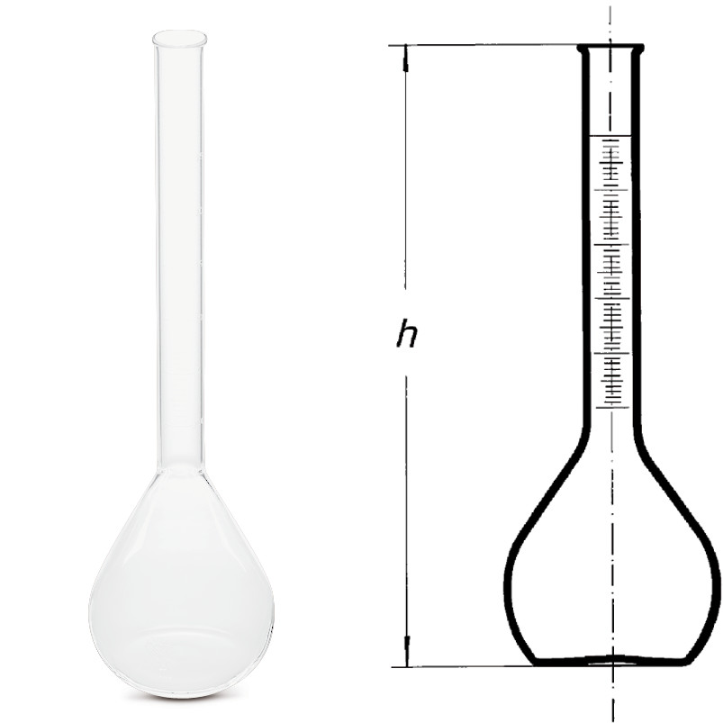 Volumetric flasks ROTILABO<sup>&reg;</sup> with scaled neck, 1000 ml
