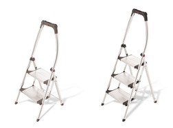 Stepladder with handle, Steps: 3