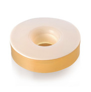 ➁ Gaskets for screw caps with borehole, GL 14, 6 mm