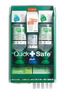 QuickSafe Complete eye wash first aid box QuickSafe Complete