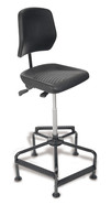 Office chair high PU foam, adjustable seat inclination