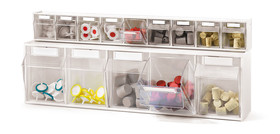 Storage containers MultiStore, Number of compartments: 3, Compartment size: 176 x 149 x 161 mm