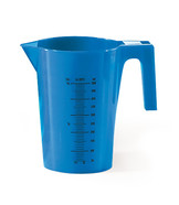 Measuring beakers, Blue