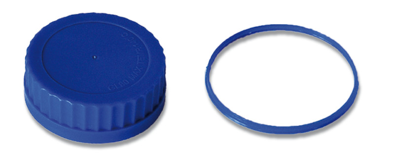 Accessories for ROTILABO<sup><sup>&reg;</sup></sup> wide necked bottles, GL 80, Spare screw caps
