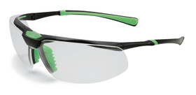 Safety spectacles 5X3, Colourless, Black, Green