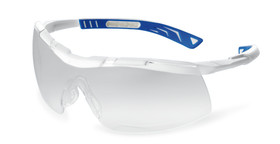 Safety spectacles 5X6, White, Blue, 5X6.03.22.00