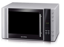 Microwave oven with grill and hot air functions