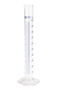 Measuring cylinders Class B Blue graduations, 100 ml