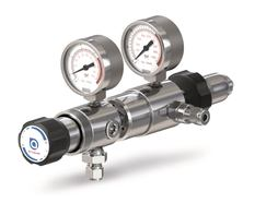 Gas pressure regulator Two-stage Back pressure up to 1 bar