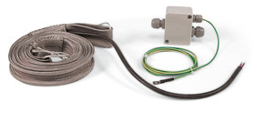 Heating cords HBSI/HBS series Model HBS heating cord, 1 m, 250 W, 450-II