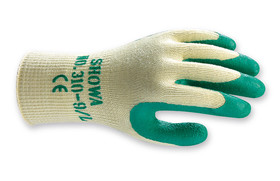 Multi-purpose gloves SHOWA 310 Grip Green , Size: 10