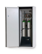Compressed gas cylinder cabinet G90 for 10 litre gas cylinders