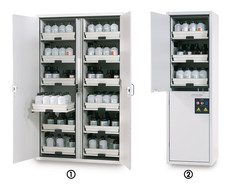 Acids and bases cabinet SL-Classic Width 600, right