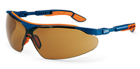 Safety spectacles i-vo, Brown, Blue, Orange