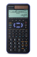Scientific solar-powered calculator EL-W506X-VL