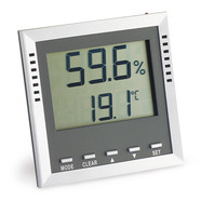 Thermohygrometer With alarm LED