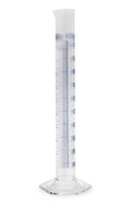 Measuring cylinders Class A Blue graduations, 1000 ml