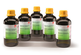 Acetonitrile with 0.1 % trifluoroacetic acid, 2.5 l
