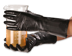 Chemical protection gloves SHOWA 892, Size: 8