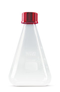 Erlenmeyer flasks with screw closure, 250 ml