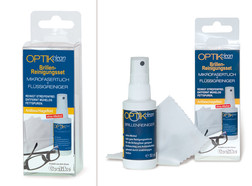 Spectacle cleaning set
