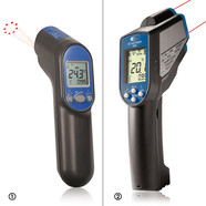 Infrared thermometer Scantemp 490 with thermocouple input