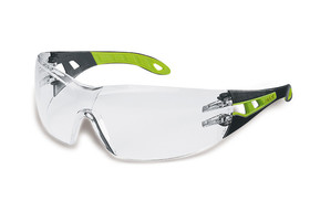 Safety spectacles pheos, Black, Green, 9192-225