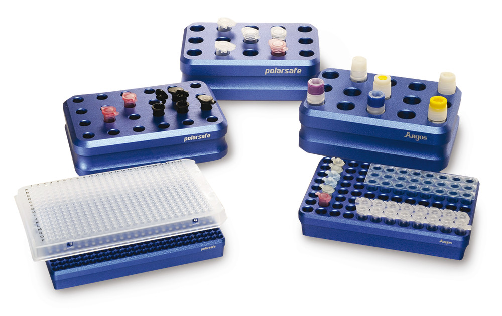 Cooling rack Polar Safe™ for 1.5/2 ml reaction vials