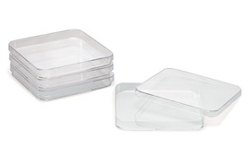 Petri dishes square, <b>Sterile</b>