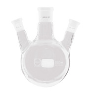 Three-necked round-bottom flasks Side necks, bevelled, 250 ml, 29/32, 14/23