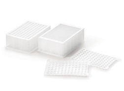 Deepwell plates Riplate<sup>&reg;</sup>, 2500 µl, rectangular/round, Non-sterile