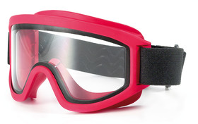 Wide-vision safety spectacles 611 Fire service, gas-tight