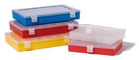 Assortment box, Number of compartments: 8, Compartment size: 52 x 52 (4x), 105 x 52 (2x), 105 x 105 (1x), 105 x 325 (1x) mm, Red