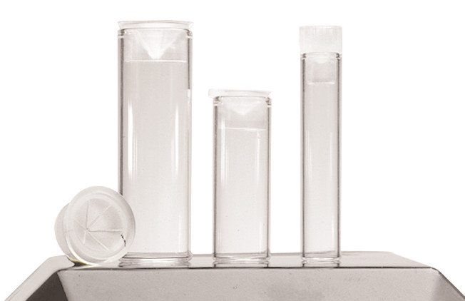 Test tubes ROTILABO<sup>&reg;</sup> Brown glass, 1 ml