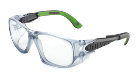 Safety spectacles 5X9 with arms, Lens made of glass