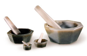 Mortars with pestle Short, 150 ml