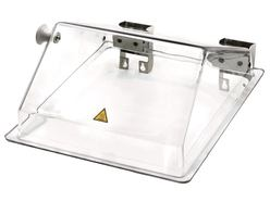 Accessories Bath cover folds back, transparent for PURA™ series, Suitable for: or Pura™ 10