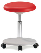 Laboratory stools Labster, Red
