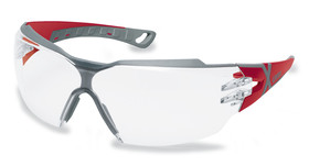 Safety spectacles pheos cx2, Red, Grey, 9198-258
